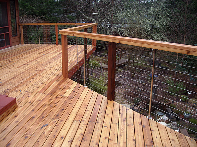 Cable Railings Photo Gallery