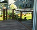 Before/after cable railing project